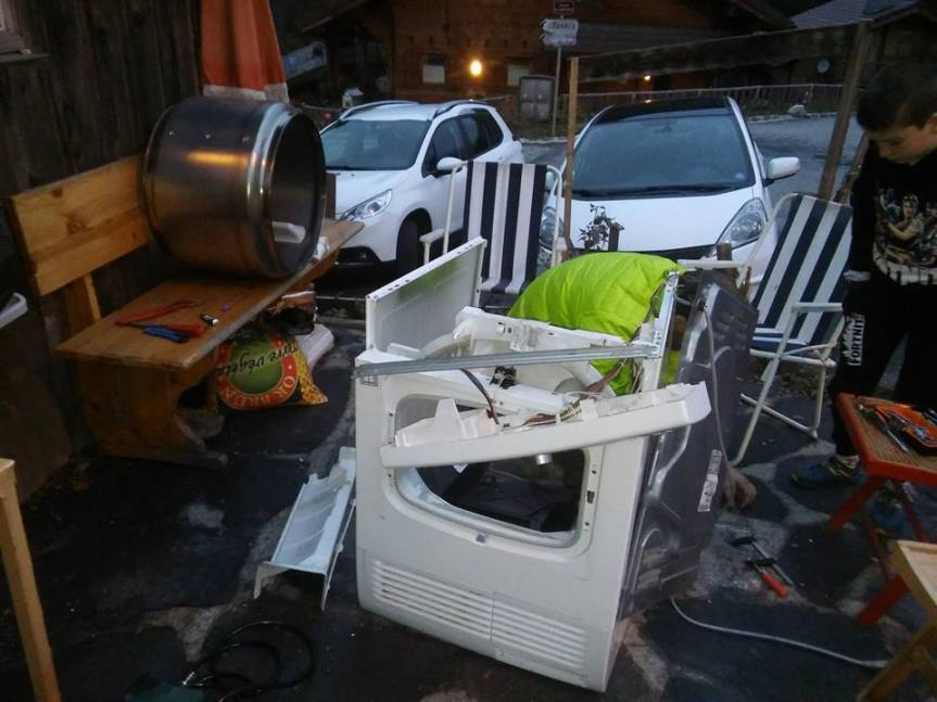 Beau succès pour le premier RepairCafé